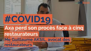 Interview Guillaume Aksil Lexbase indemnisation perte d'exploitation
